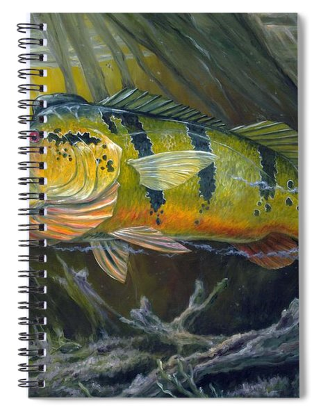 The Great Peacock Bass Spiral Notebook