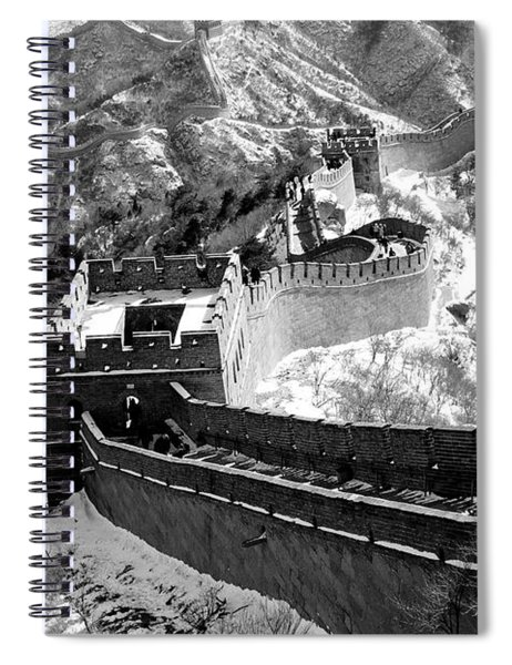 The Great Wall Of China Spiral Notebook