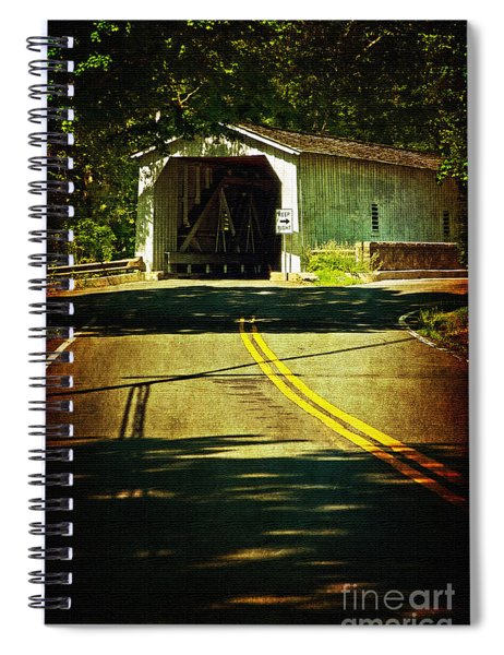 The Green Sergeants Covered Bridge Spiral Notebook