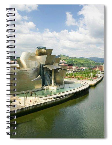 The Guggenheim Museum Of Contemporary Spiral Notebook