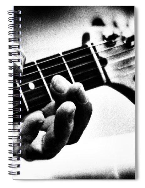 The Guitar Spiral Notebook