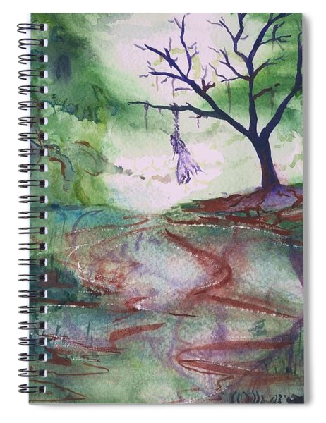 The Hanging Tree  Spiral Notebook
