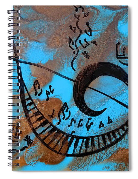 The Happy Sol Key Spiral Notebook