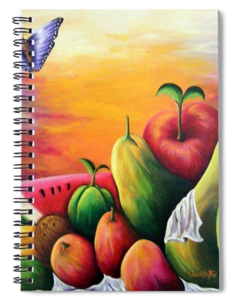 The Harvest 1 Spiral Notebook