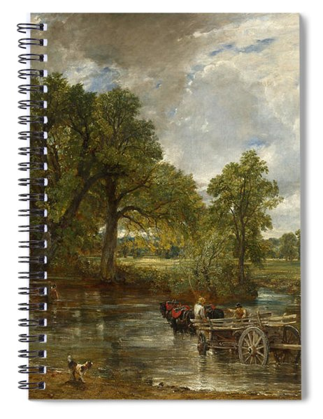 The Hay Wain Spiral Notebook