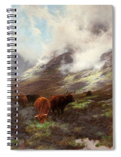 The Head Of The Glen, 1894 Spiral Notebook