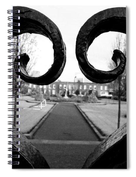 The Heart Of Dublin Spiral Notebook
