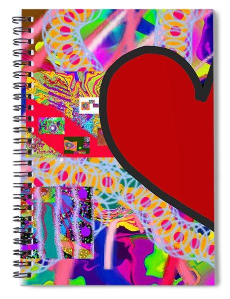 The Heart Of The Matter - Art Spiral Notebook