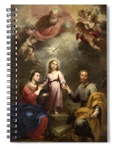 The Heavenly And Earthly Trinities Spiral Notebook