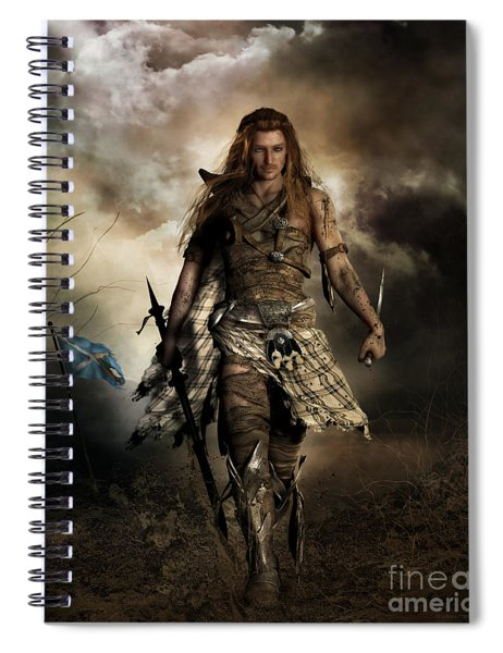 The Highlander Spiral Notebook