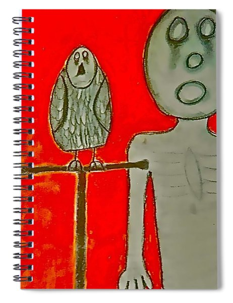 The Hollow Men 88 - Bird Spiral Notebook