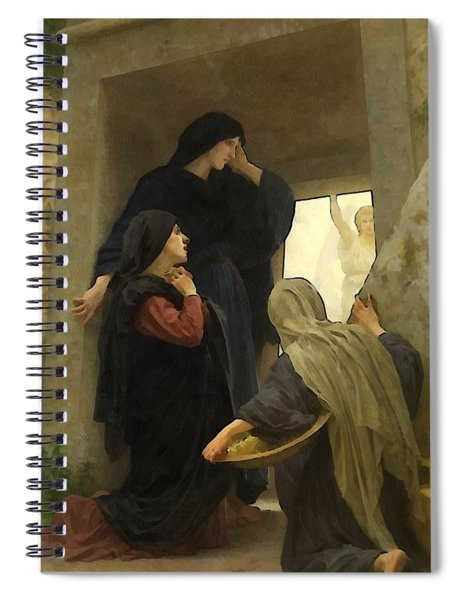 The Holy Women At The Tomb Spiral Notebook
