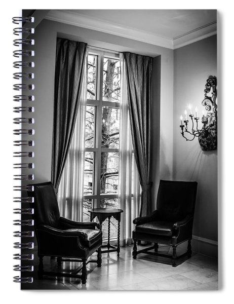 The Hotel Lobby Spiral Notebook