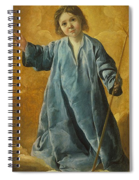 The Infant Christ Spiral Notebook