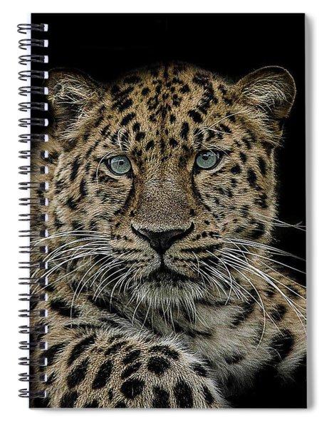 The Interrogator  Spiral Notebook