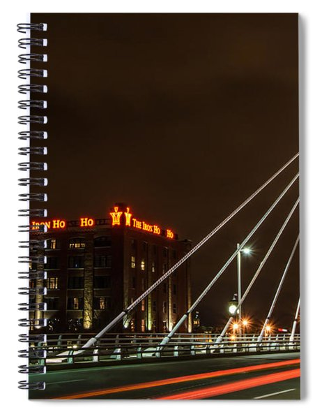 The Iron Ho Ho Spiral Notebook