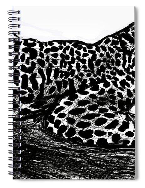 The Jaguar  Spiral Notebook