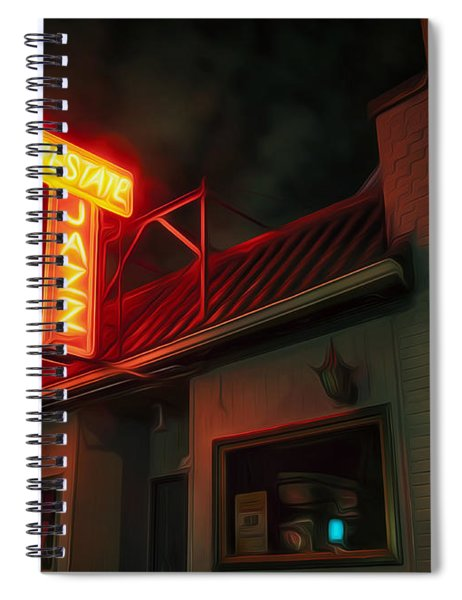 The Jazz Estate Spiral Notebook