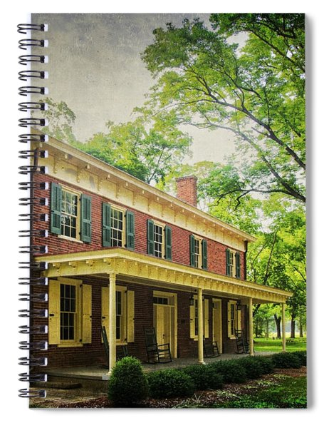 The John Stover House Spiral Notebook