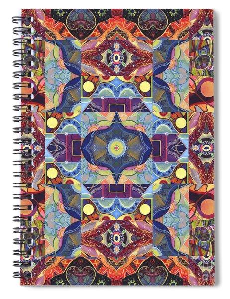 The Joy Of Design Mandala Series Puzzle 1 Arrangement 1 Spiral Notebook