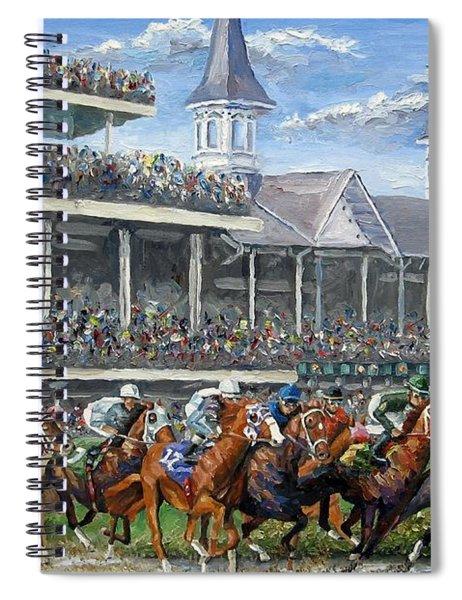 The Kentucky Derby - Churchill Downs Spiral Notebook