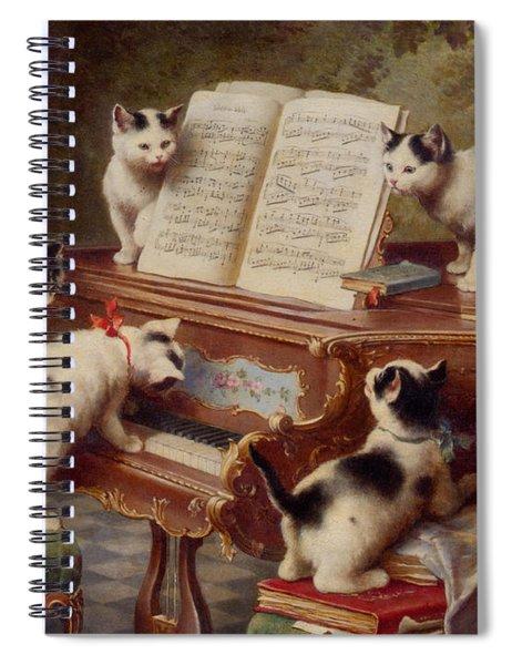 The Kittens Recital Spiral Notebook