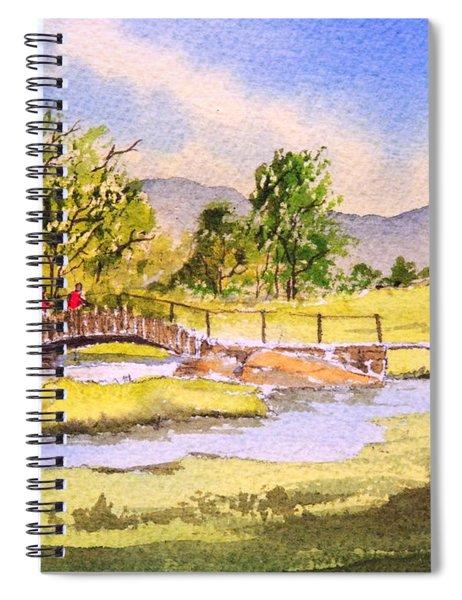 The Lake District - Slater Bridge Spiral Notebook