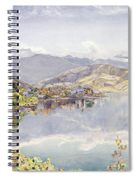 The Lake Of Lucerne, Mount Pilatus Spiral Notebook