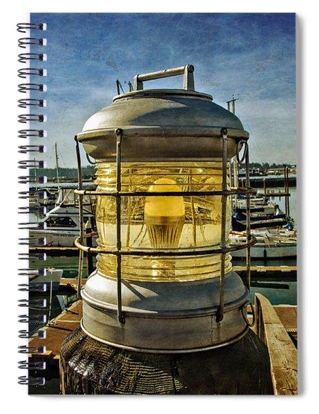 The Lamp At Embarcadero  Spiral Notebook