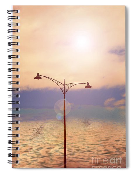 The Lampost Spiral Notebook