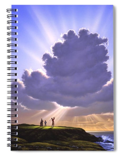 The Legend Of Bagger Vance Spiral Notebook
