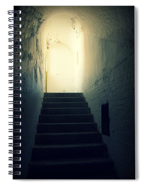 The Light At The Top Of The Stairs Spiral Notebook