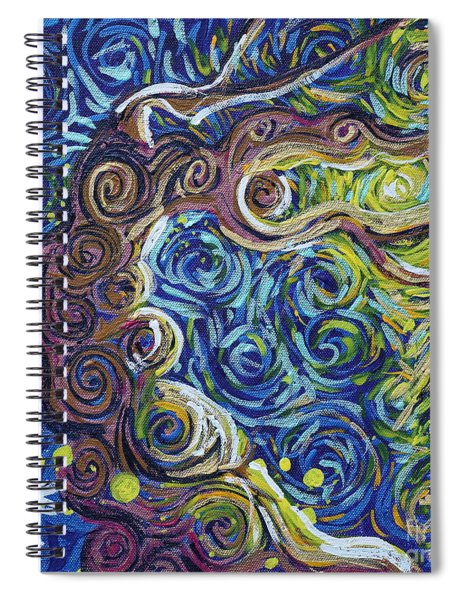 The Light Of Love Is All Spiral Notebook