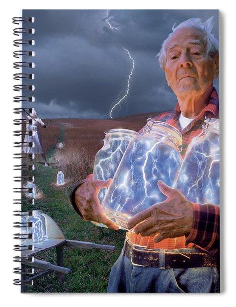 The Lightning Catchers Spiral Notebook