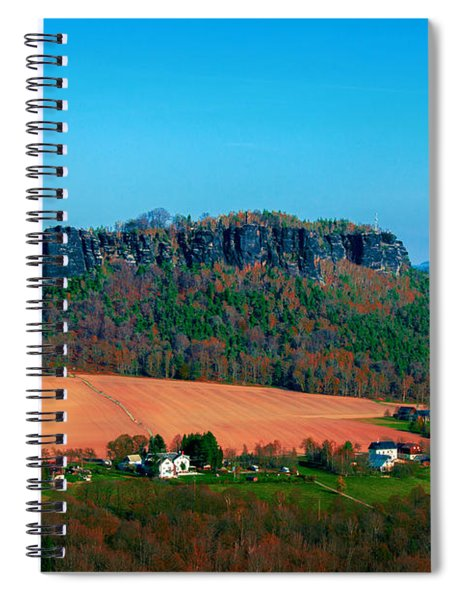 The Lilienstein Spiral Notebook