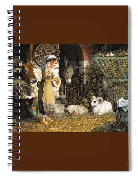 The Little Drummer Boy Spiral Notebook