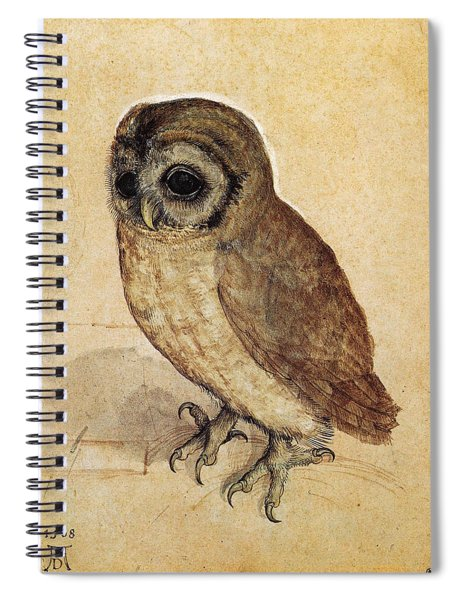 The Little Owl 1508 Spiral Notebook