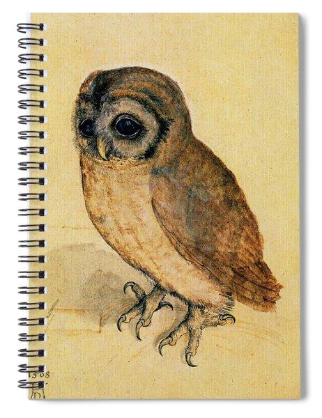 The Little Owl Spiral Notebook