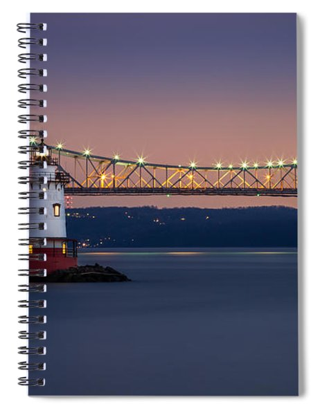 The Little White Lighthouse Spiral Notebook