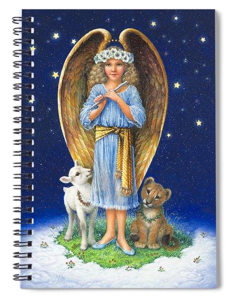 The Littlest Angel Spiral Notebook