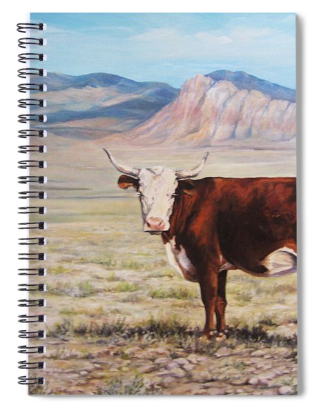 The Lone Range Spiral Notebook