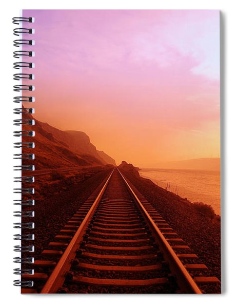 The Long Walk To No Where  Spiral Notebook