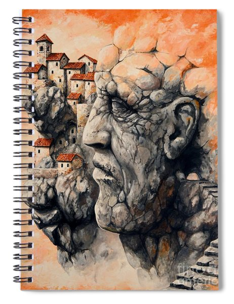 The Lost City - The Sentinel Spiral Notebook