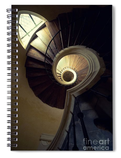 The Lost Tower Spiral Notebook