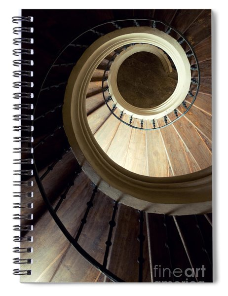 The Lost Wooden Tower Spiral Notebook