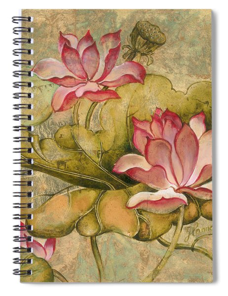 The Lotus Family Spiral Notebook