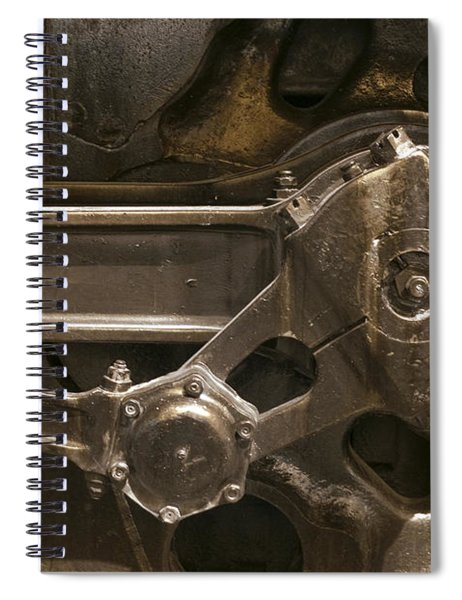 The Main Drive Rod Spiral Notebook