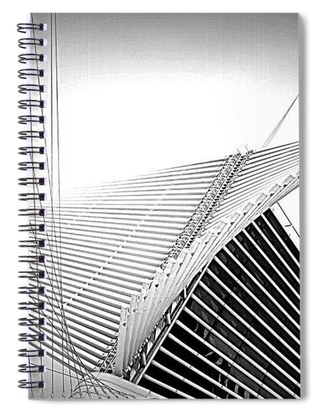 The Mam Milwaukee Art Museum Spiral Notebook