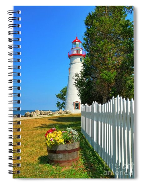 The Marblehead Lighthouse Spiral Notebook