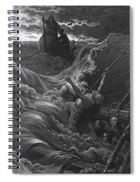 The Mariner As His Ship Is Sinking Sees The Boat With The Hermit And Pilot Spiral Notebook